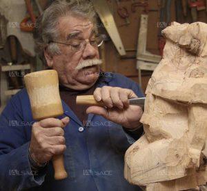 sculpture ronde bosse